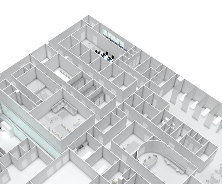 九州再生医療センター 見取り図